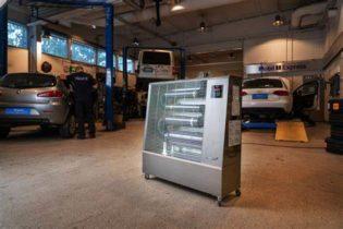 Nyhet Airrex Dieseldrivna infravärmare
